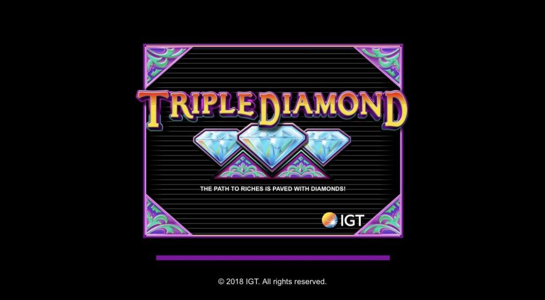 Triple Diamond สล็อตคุณภาพที่เต็มไปด้วยความคลาสสิค