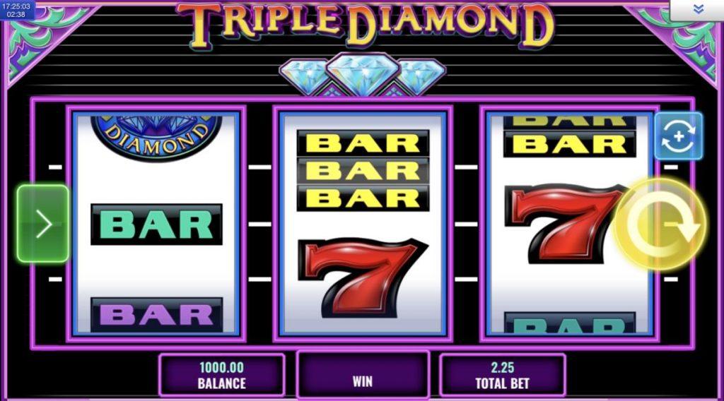 Triple Diamond-พนัน