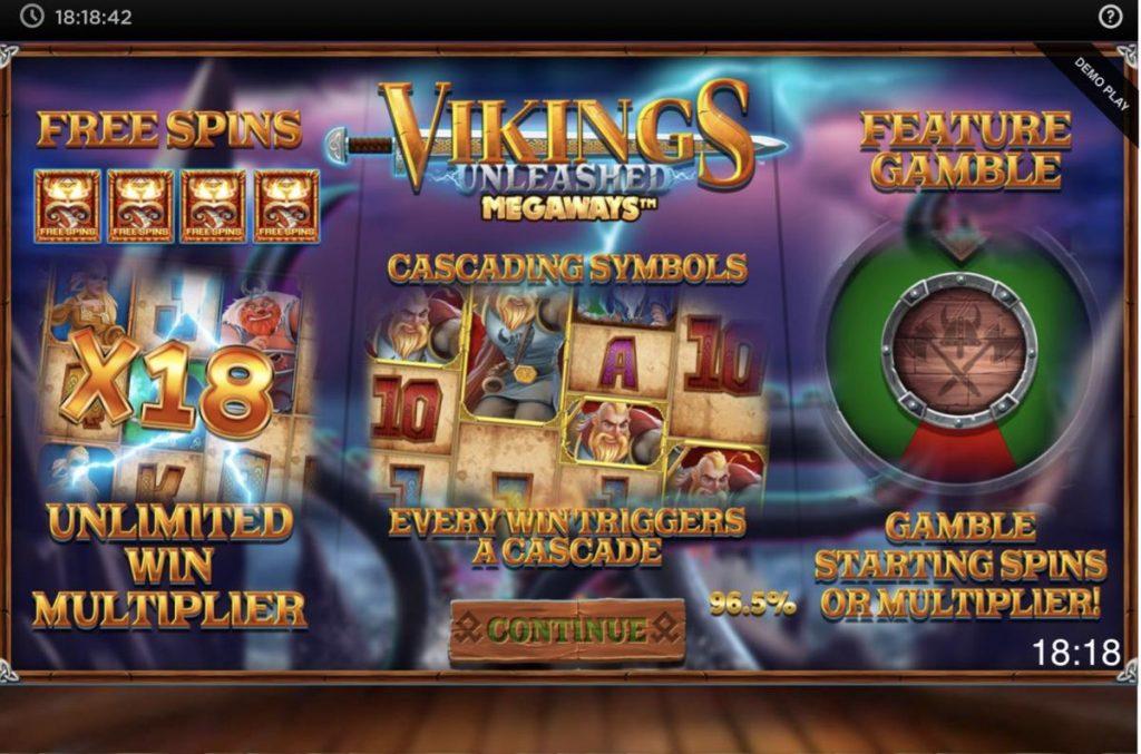 Vikings Unleashed Megaways-พนัน