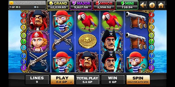 สล็อตออนไลน์ CAPTAIN ROGER-เกม